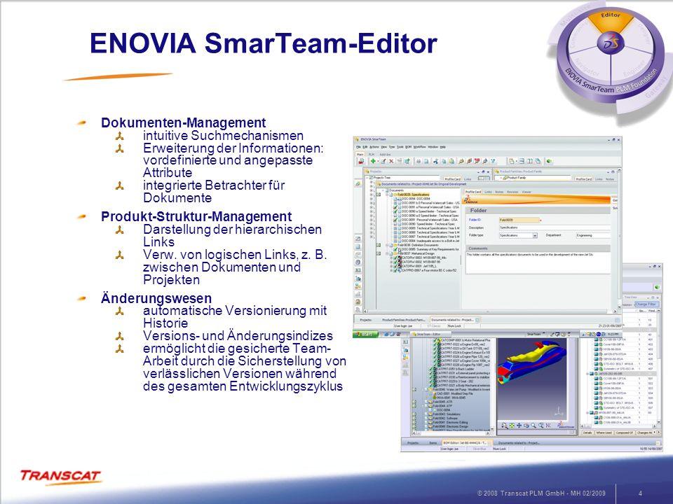 ENOVIA SmarTeam-Editor