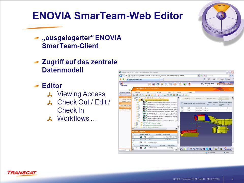 ENOVIA SmarTeam-Web Editor