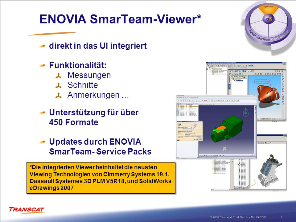 ENOVIA SmarTeam-Viewer*