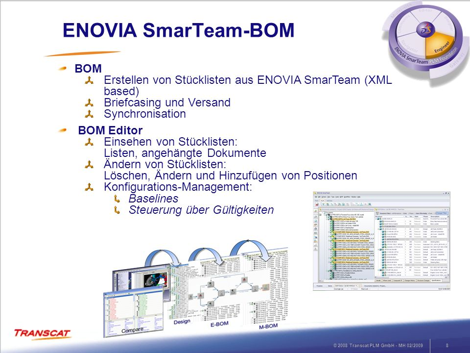 ENOVIA SmarTeam-BOM BOM
