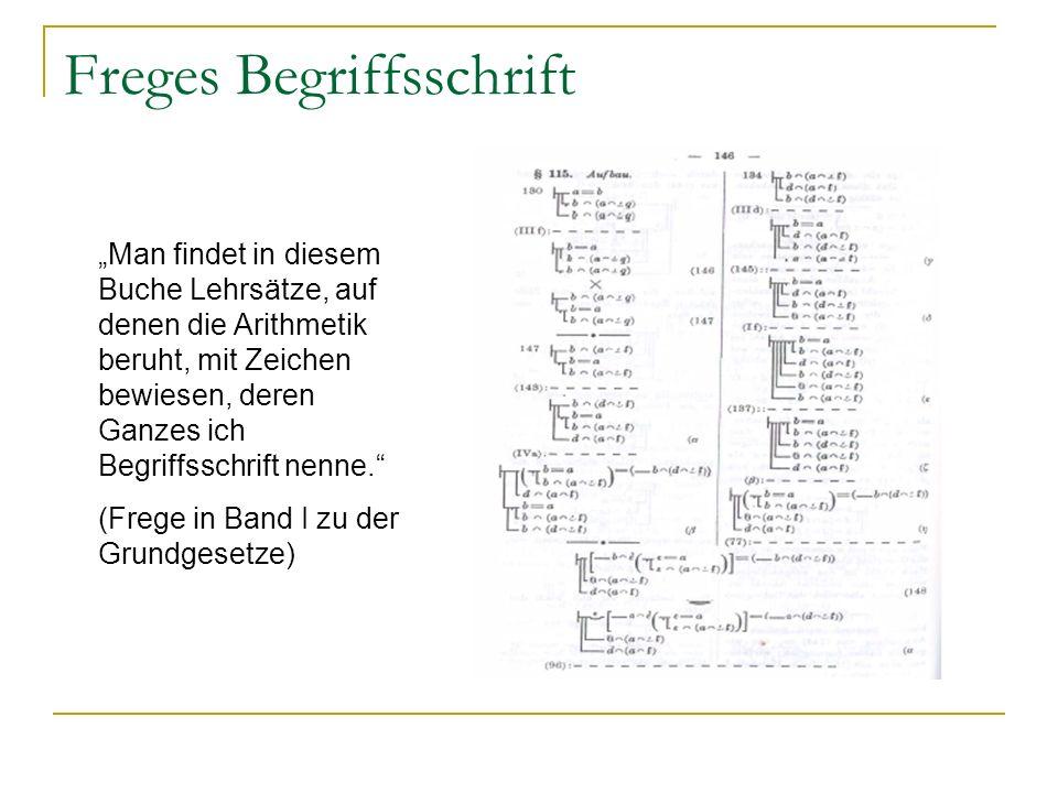 Freges Begriffsschrift