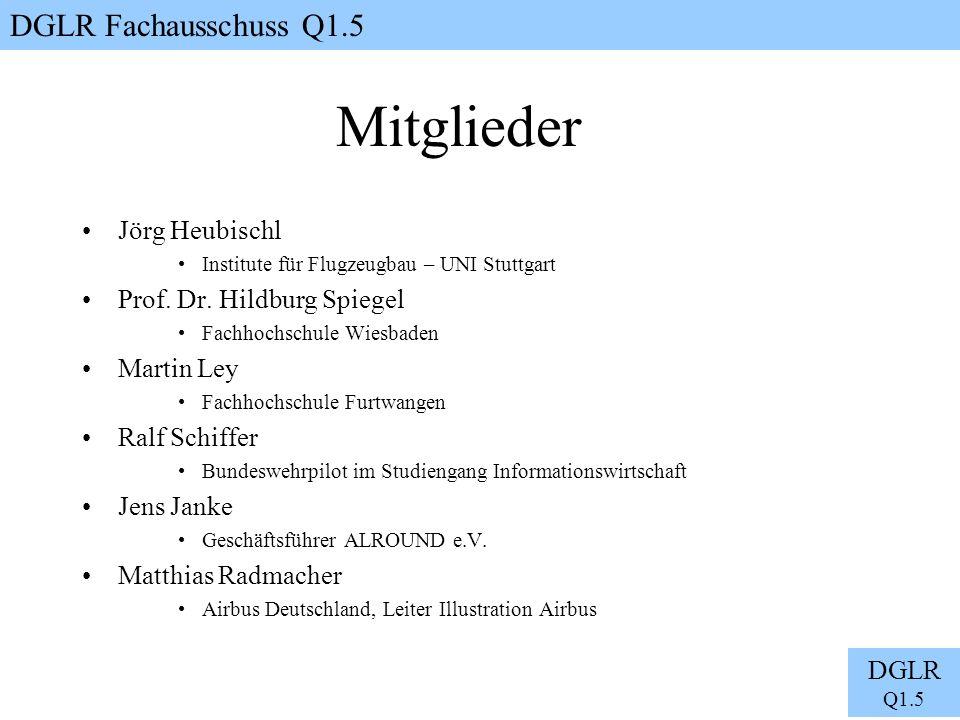 Mitglieder Jörg Heubischl Prof. Dr. Hildburg Spiegel Martin Ley