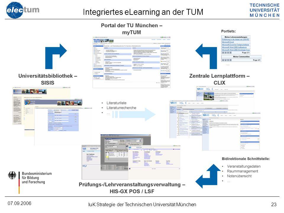 Integriertes eLearning an der TUM