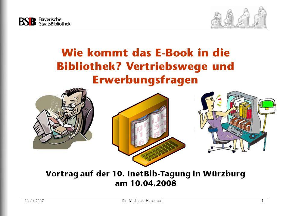 Vortrag auf der 10. InetBib-Tagung in Würzburg am 10.04.2008