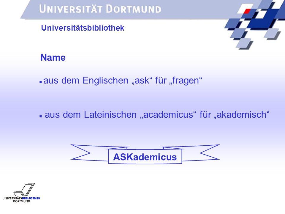 ASKademicus Universitätsbibliothek