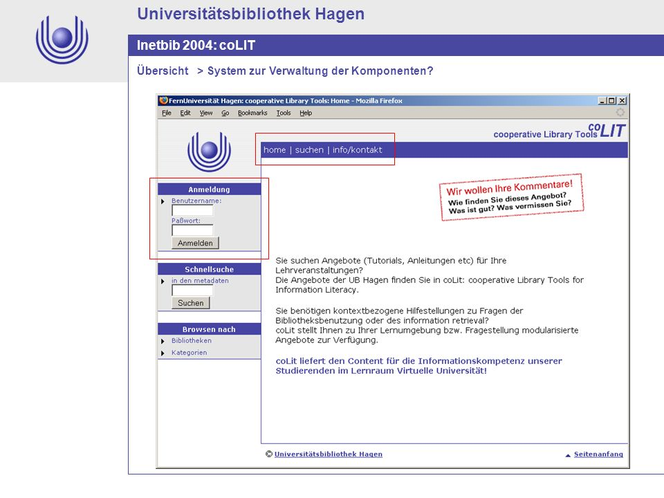 Universitätsbibliothek Hagen