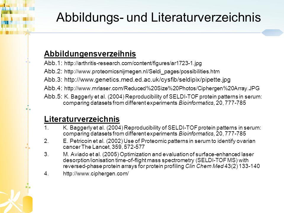 Abbildungs- und Literaturverzeichnis