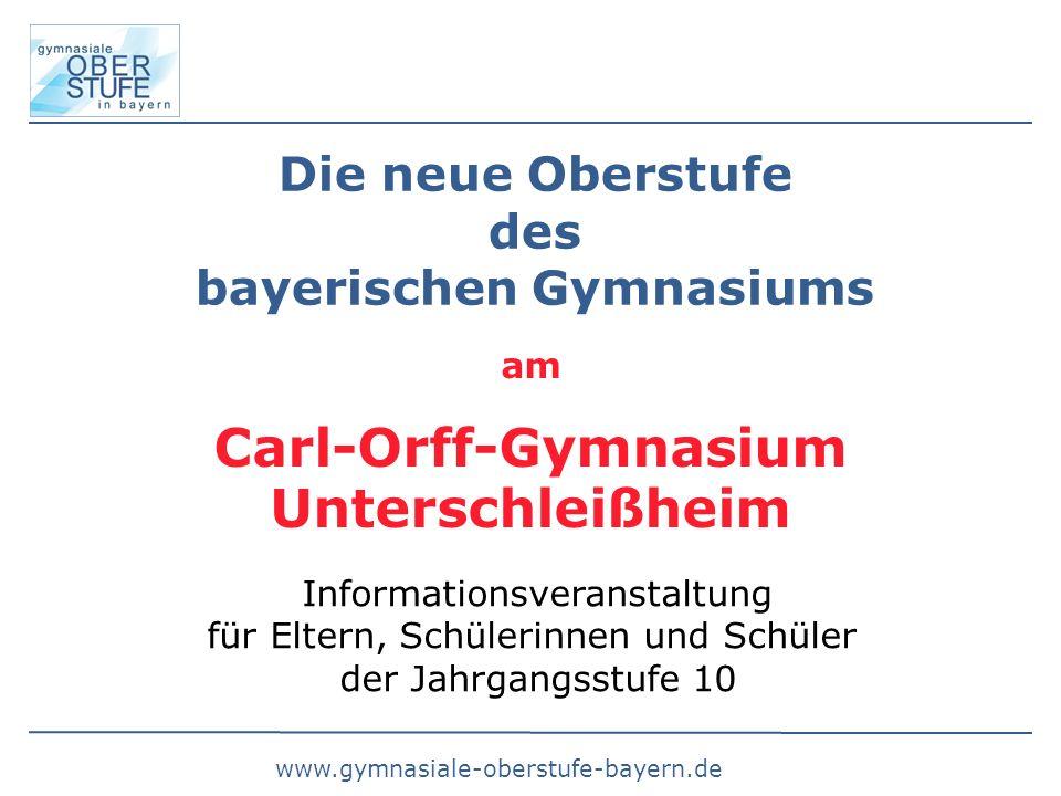 Carl-Orff-Gymnasium Unterschleißheim