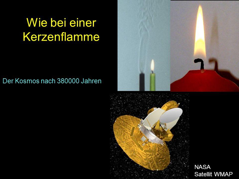 Wie bei einer Kerzenflamme