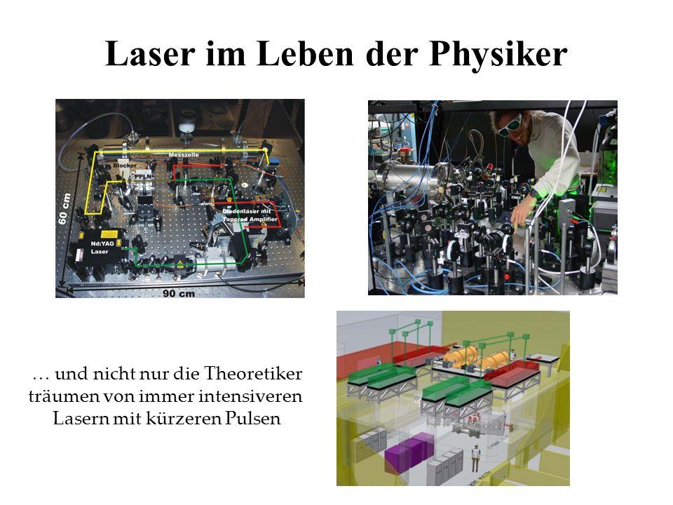 Laser im Leben der Physiker
