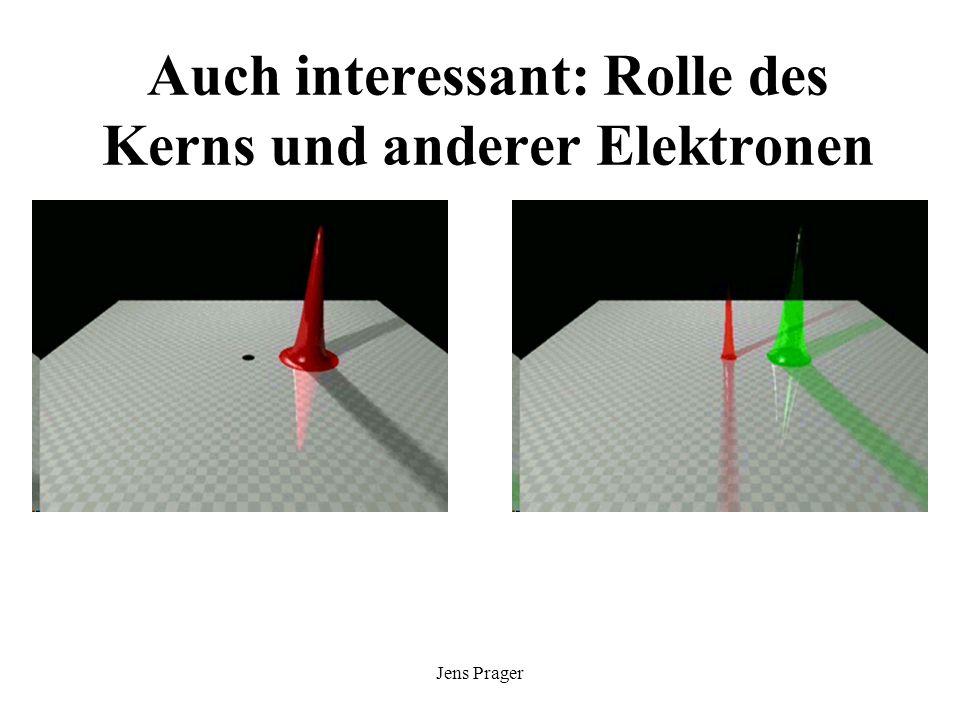 Auch interessant: Rolle des Kerns und anderer Elektronen