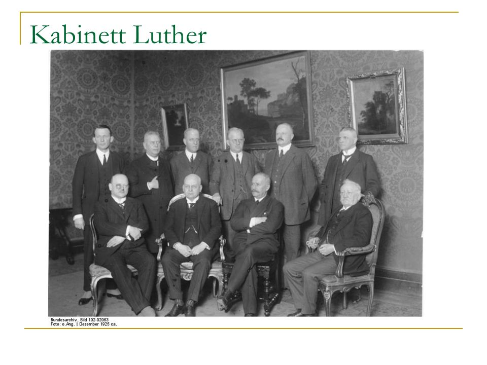 Kabinett Luther