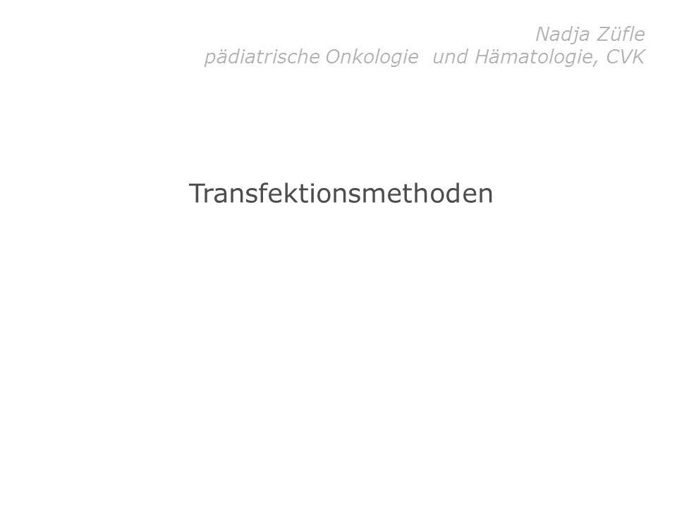 Transfektionsmethoden