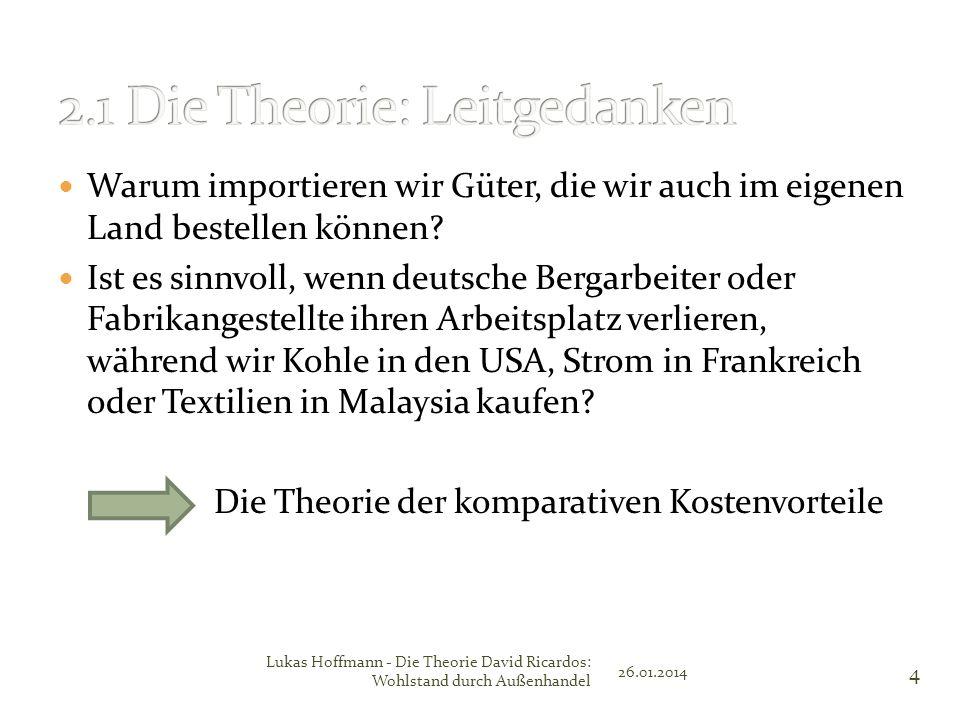 2.1 Die Theorie: Leitgedanken