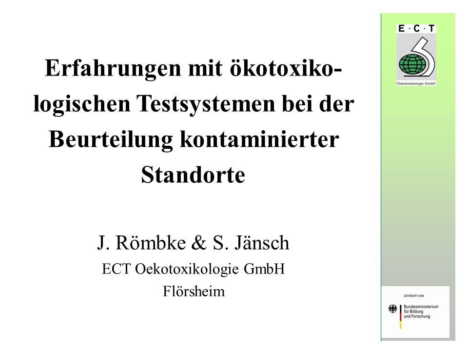 ECT Oekotoxikologie GmbH