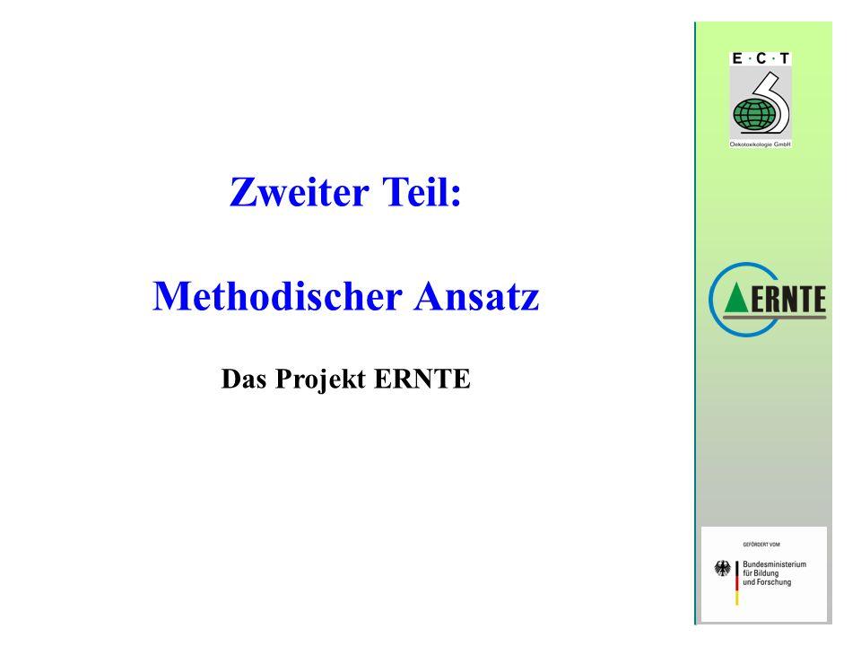 Zweiter Teil: Methodischer Ansatz