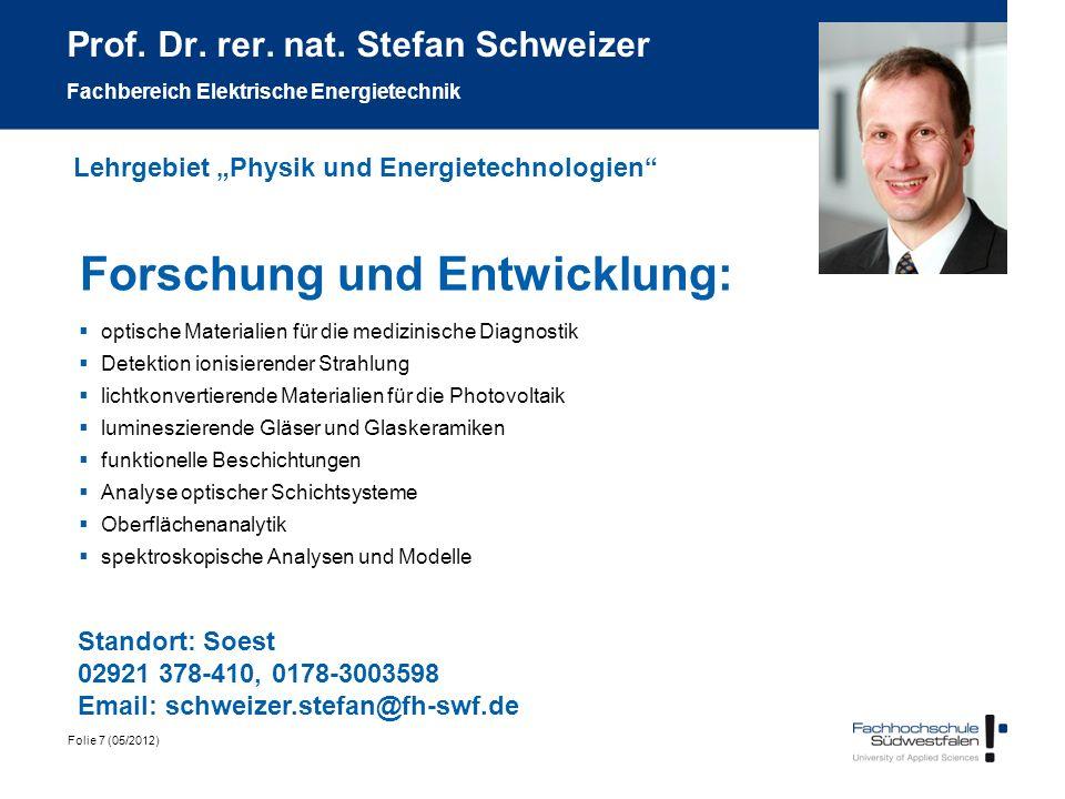 Forschung und Entwicklung: