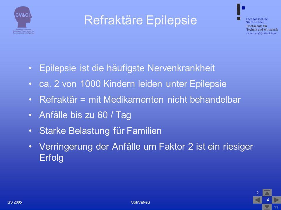 Refraktäre Epilepsie Epilepsie ist die häufigste Nervenkrankheit