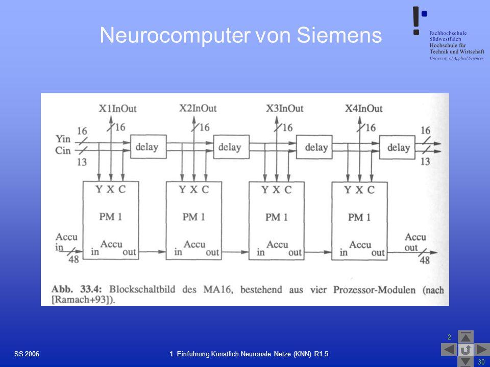 Neurocomputer von Siemens