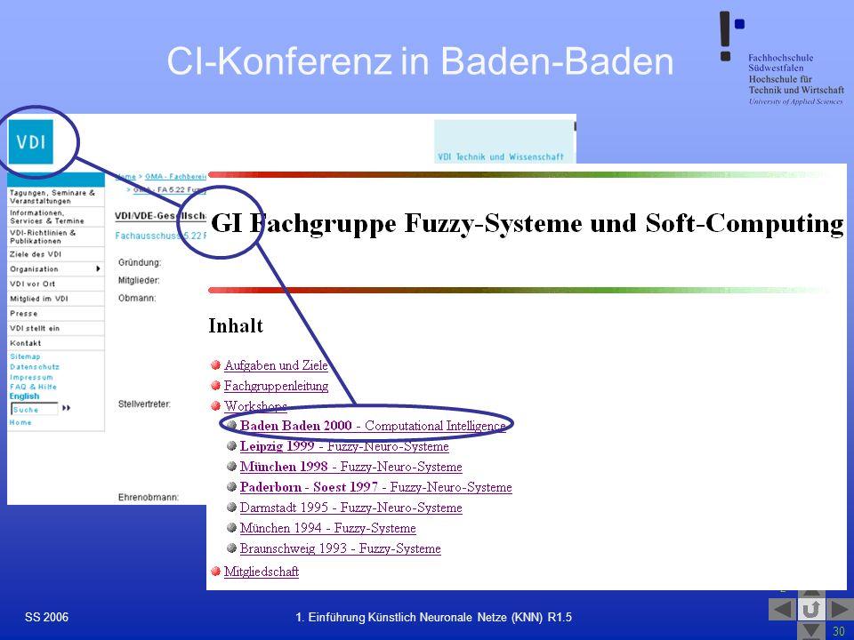 CI-Konferenz in Baden-Baden