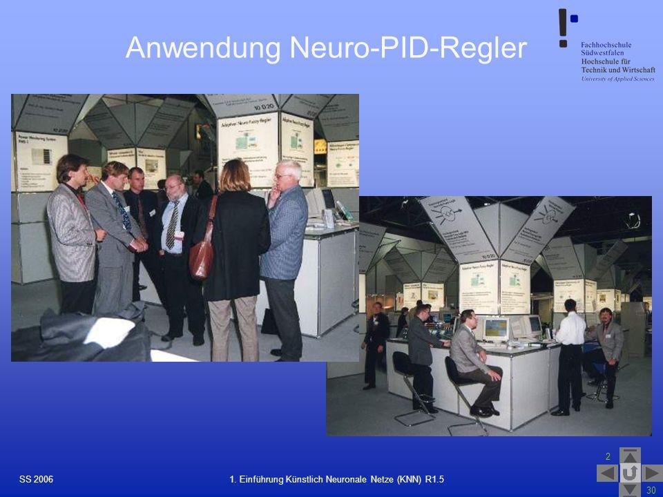 Anwendung Neuro-PID-Regler