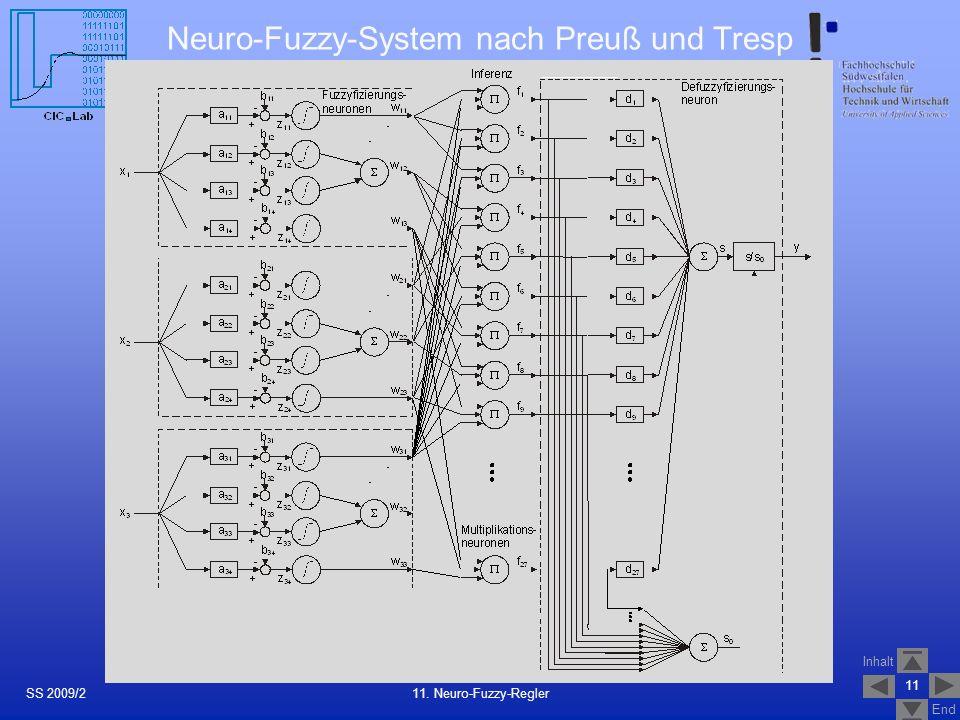 Neuro-Fuzzy-System nach Preuß und Tresp