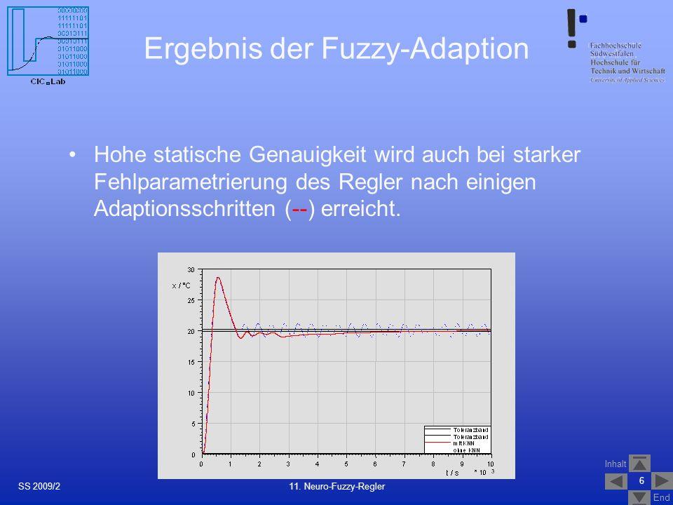 Ergebnis der Fuzzy-Adaption