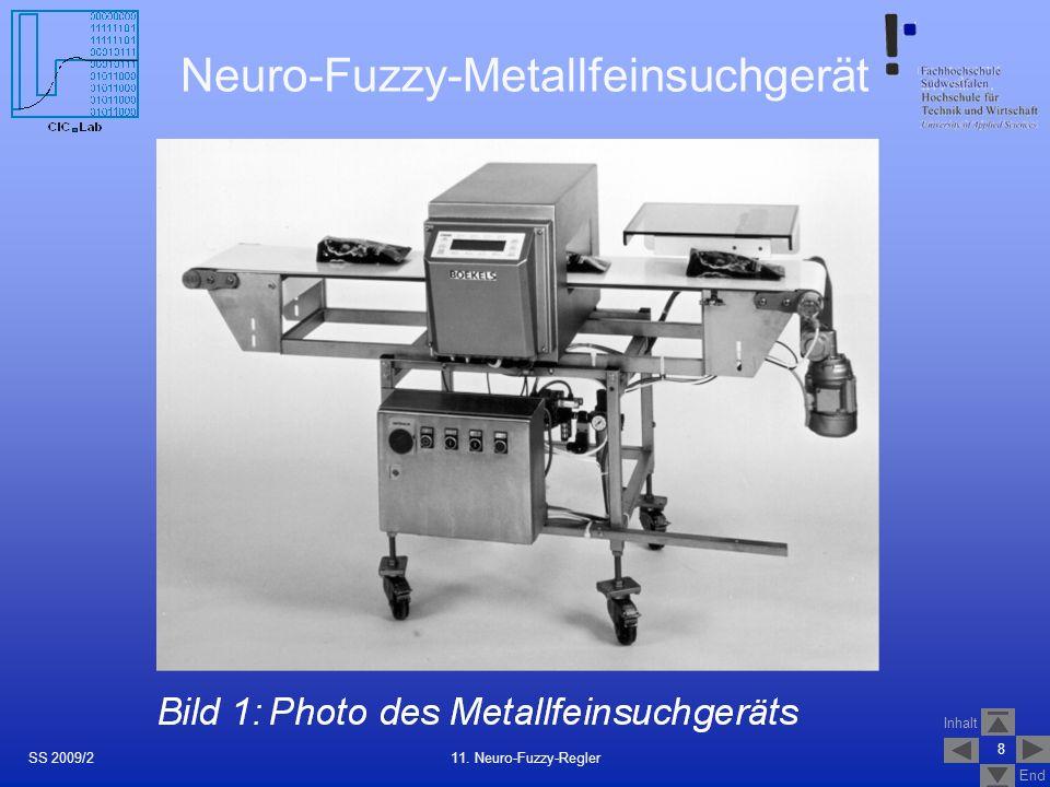 Neuro-Fuzzy-Metallfeinsuchgerät