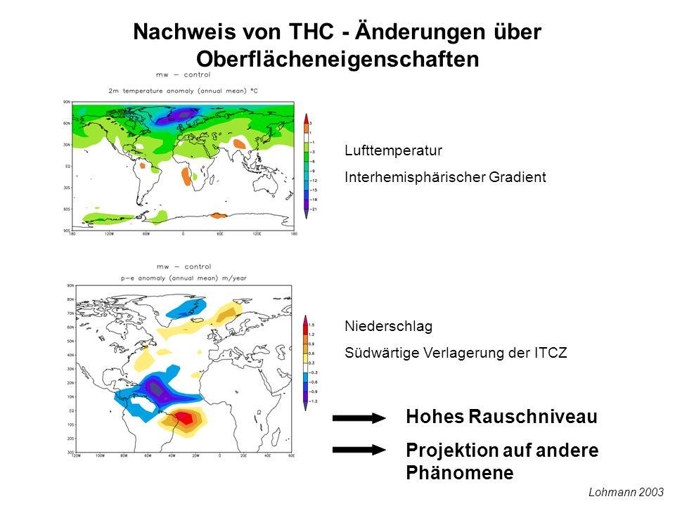 Nachweis von THC - Änderungen über Oberflächeneigenschaften