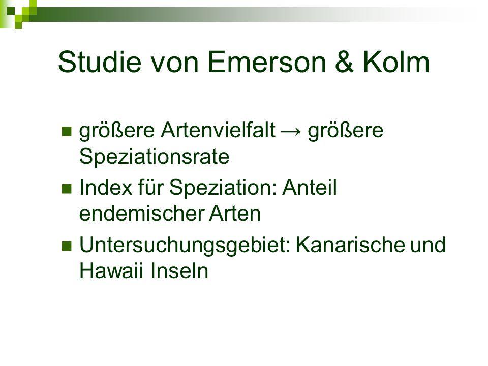 Studie von Emerson & Kolm