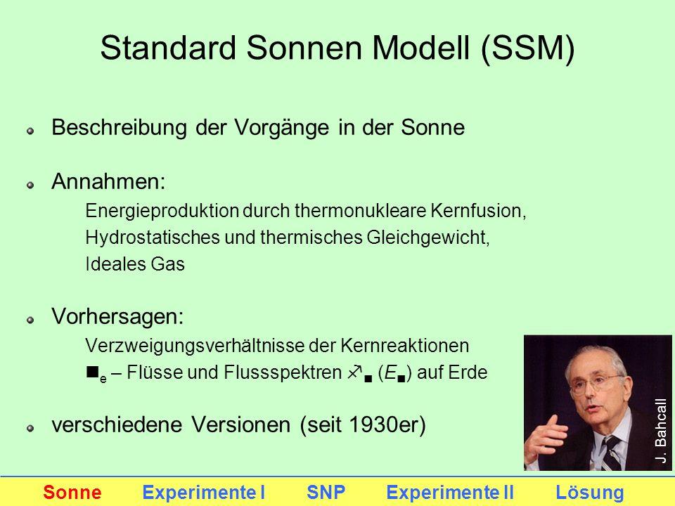 Standard Sonnen Modell (SSM)