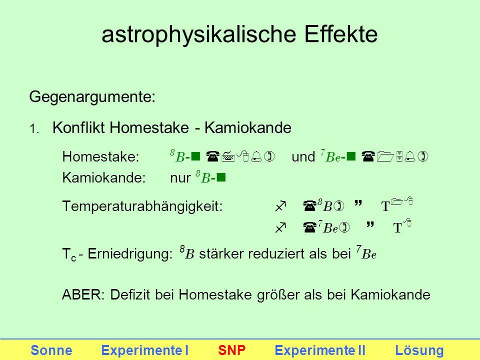 astrophysikalische Effekte
