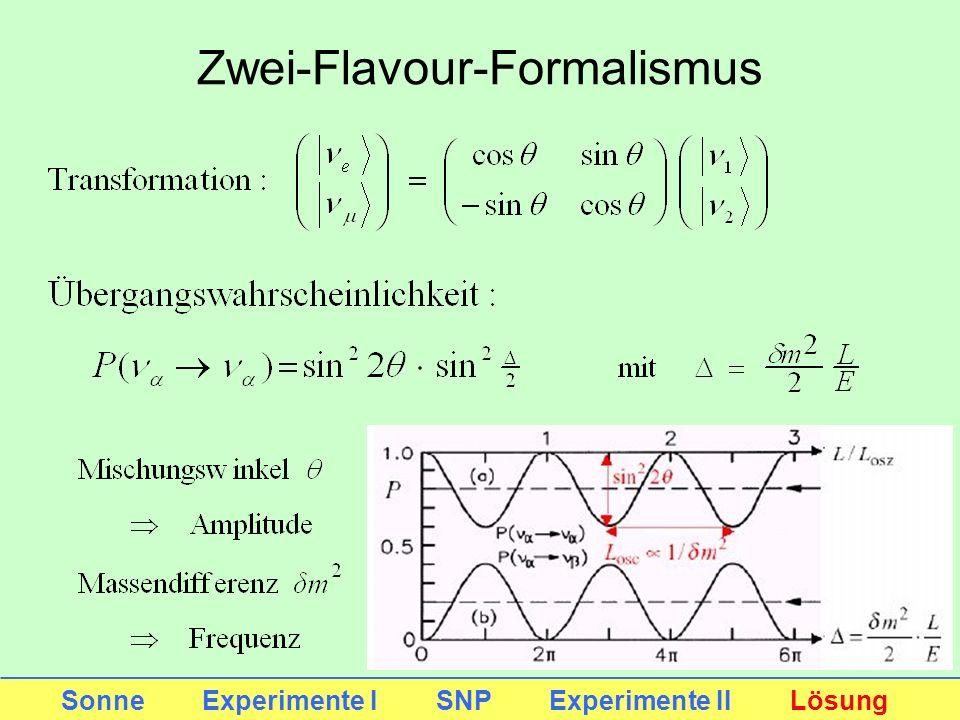 Zwei-Flavour-Formalismus