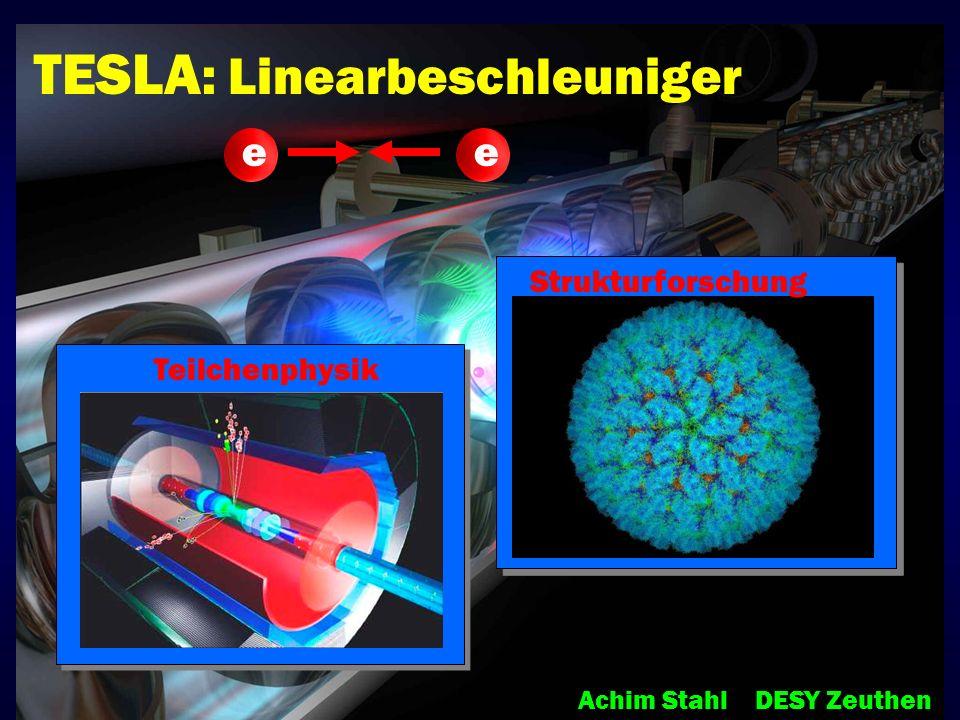 TESLA: Linearbeschleuniger