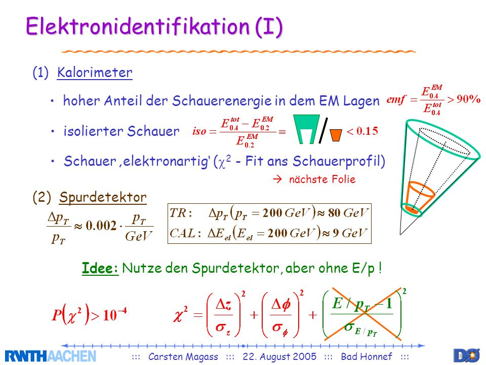 Elektronidentifikation (I)