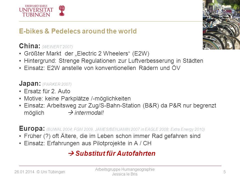 E-bikes & Pedelecs around the world