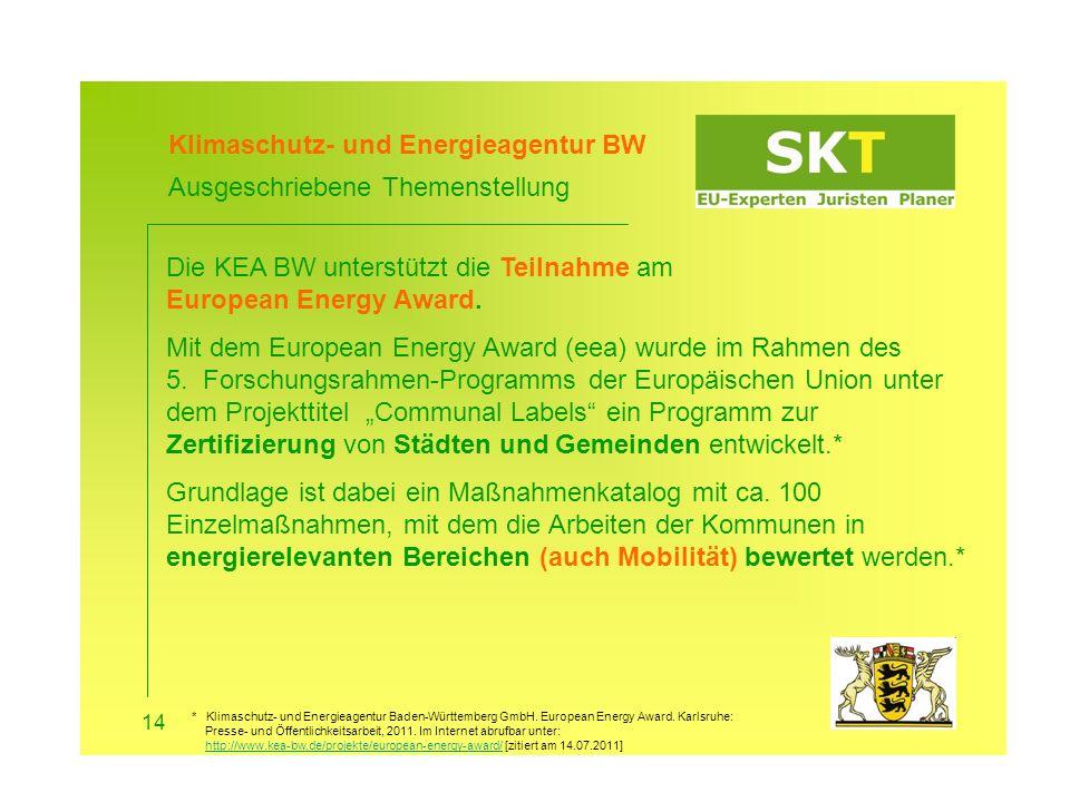 Klimaschutz- und Energieagentur BW