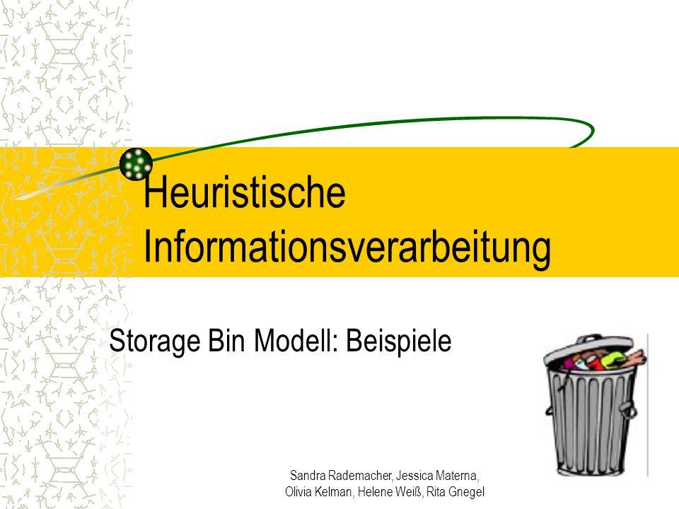 Heuristische Informationsverarbeitung