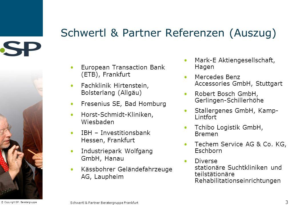 Schwertl & Partner Referenzen (Auszug)