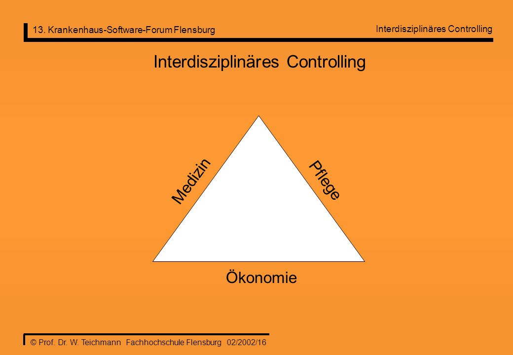 Interdisziplinäres Controlling