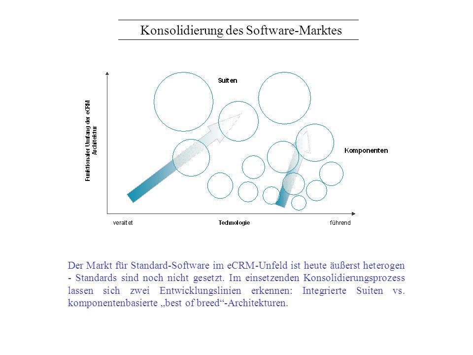 Konsolidierung des Software-Marktes