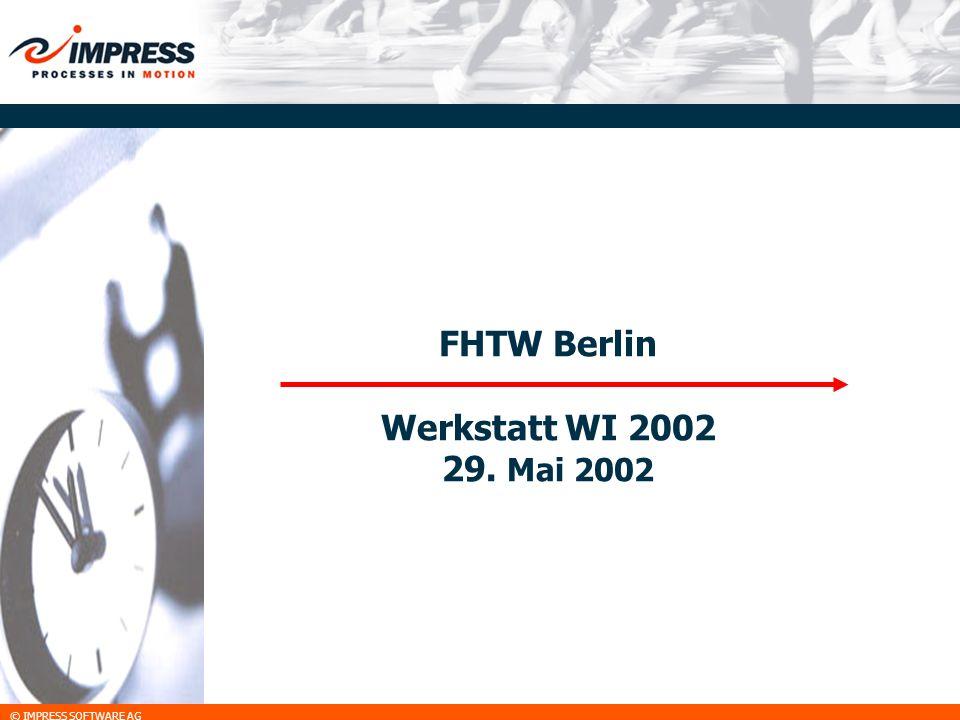 FHTW Berlin Werkstatt WI 2002 29. Mai 2002