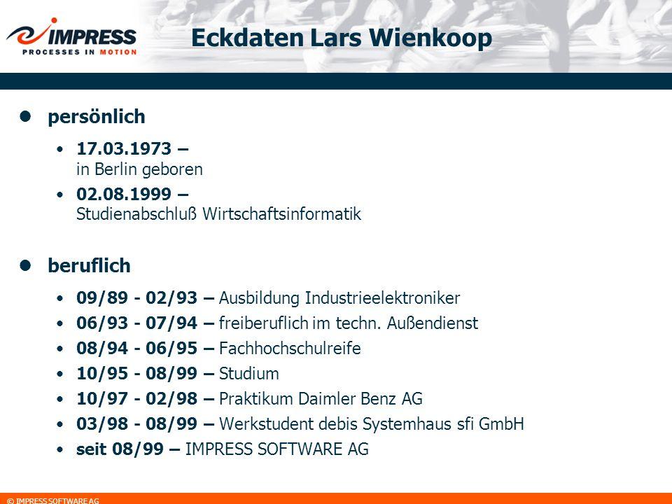Eckdaten Lars Wienkoop