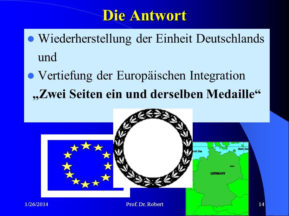 """""""Zwei Seiten ein und derselben Medaille"""
