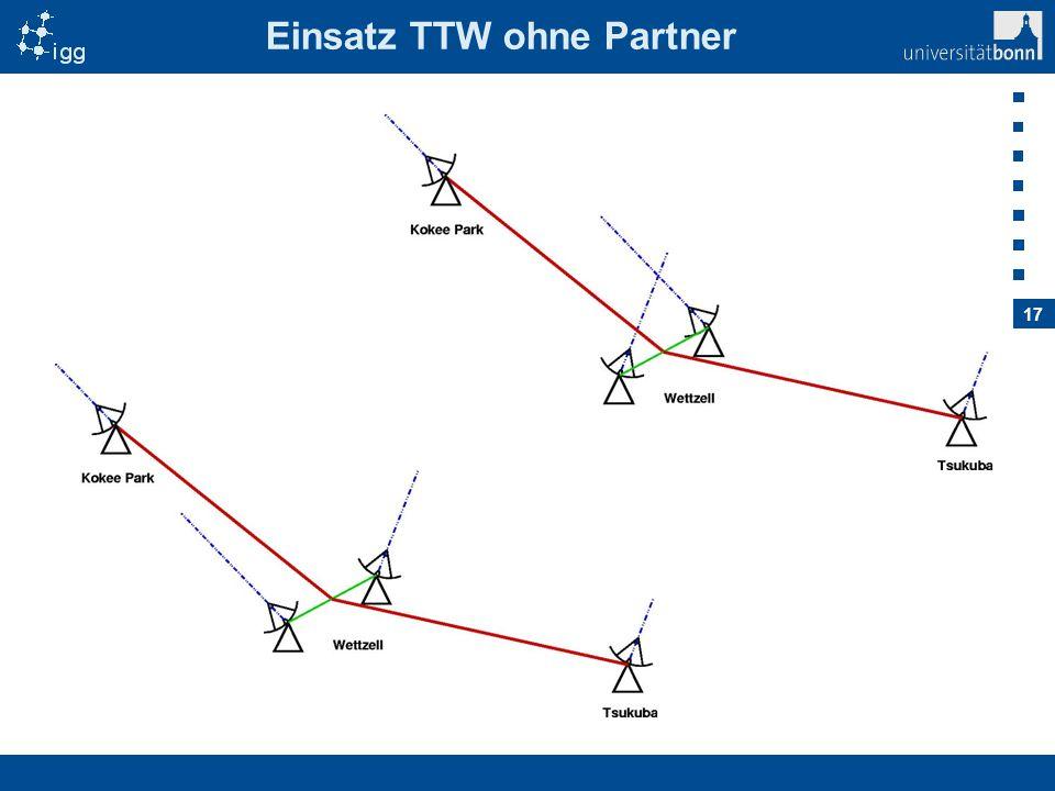 Einsatz TTW ohne Partner