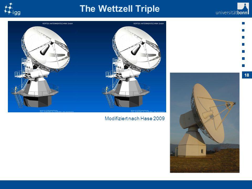 The Wettzell Triple Modifiziert nach Hase 2009