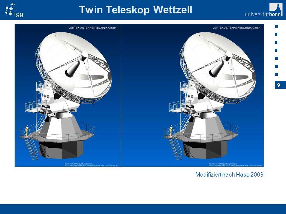 Twin Teleskop Wettzell