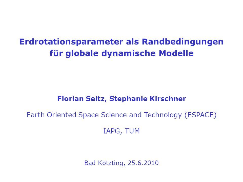 Florian Seitz, Stephanie Kirschner