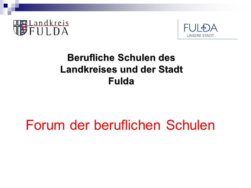 Berufliche Schulen des Landkreises und der Stadt Fulda