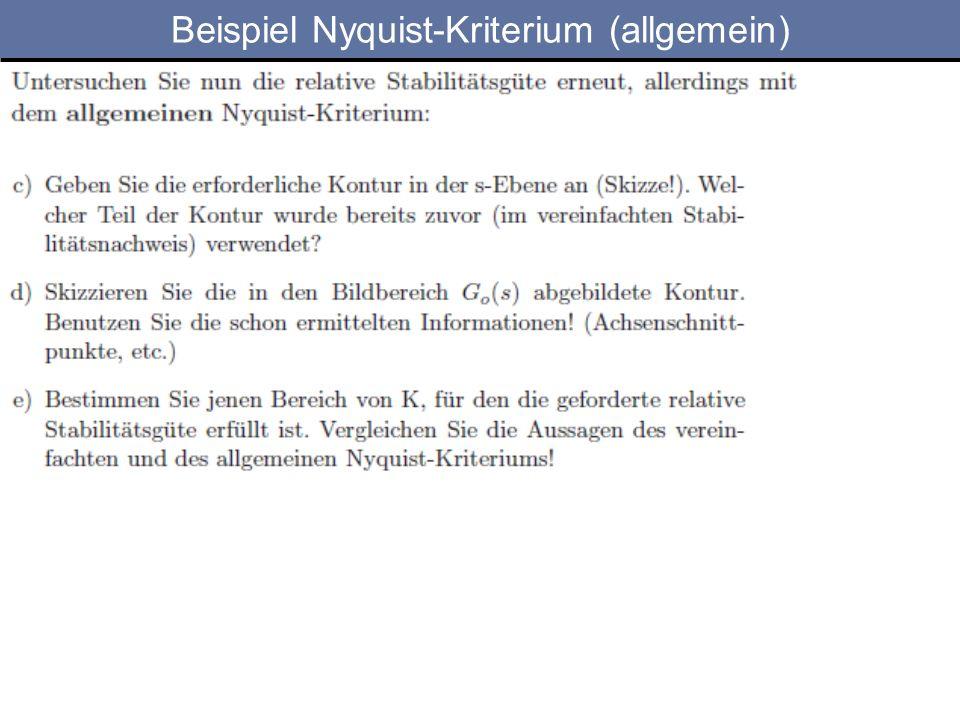 Beispiel Nyquist-Kriterium (allgemein)